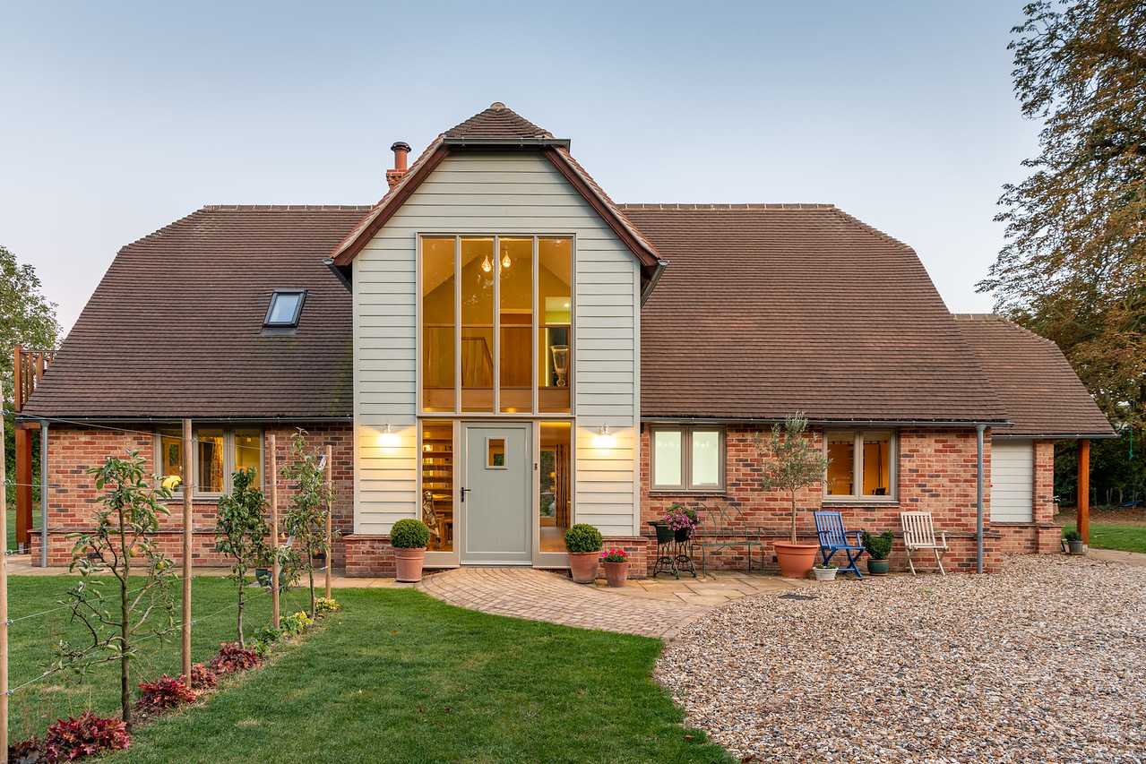 HardiePlank®: Self-build dream is realised in this idyllic countryside retreat